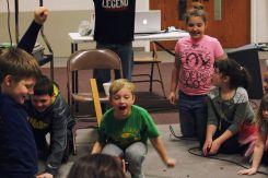 Students enjoying a game!